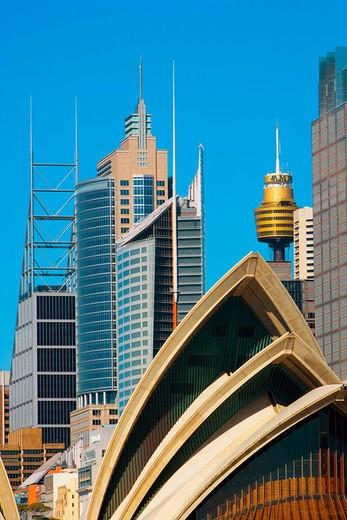 Stock Photo: 1566-647239 The City. Sydney City. New South Wales. Australia. April 2006