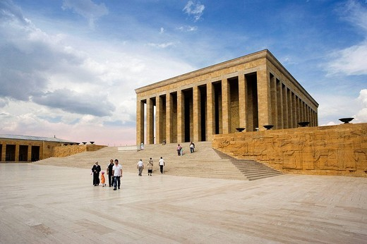 Anit Kabir (Ataturk´s mausoleum), Ankara. Central Anatolia, Turkey : Stock Photo