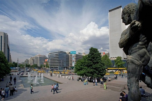Stock Photo: 1566-647513 Ataturk Boulevard, Ankara. Central Anatolia, Turkey