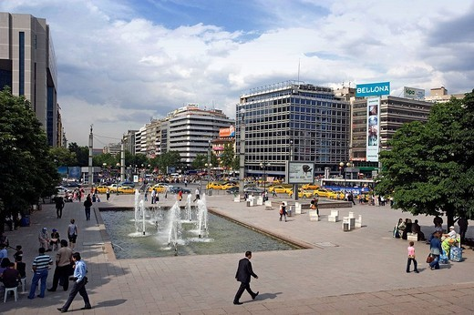 Stock Photo: 1566-647514 Ataturk Boulevard, Ankara. Central Anatolia, Turkey