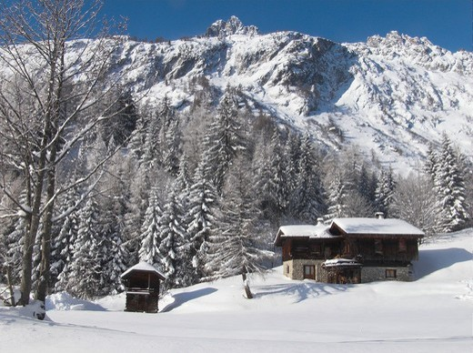 trelechamp,chamonix,haute savoie,france : Stock Photo