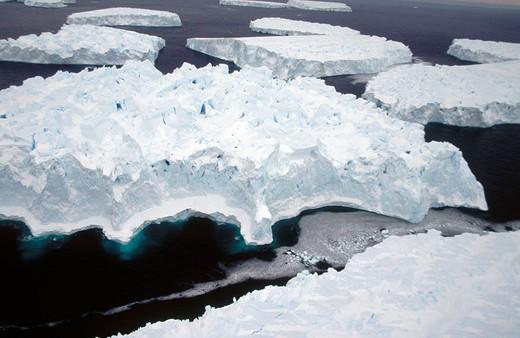 Stock Photo: 1566-665869 Eroded Iceberg. Dumont d´Urville. Antarctica