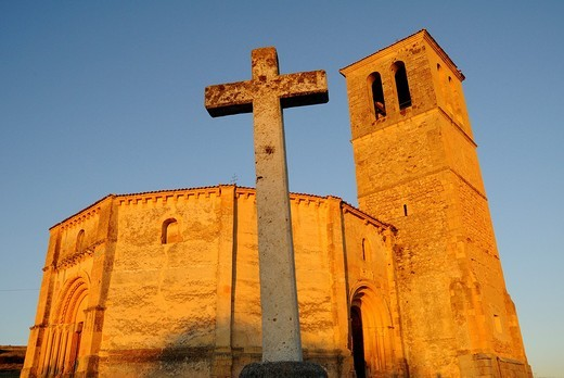 Stock Photo: 1566-673551 Iglesia de la Vera Cruz, Segovia, Spain