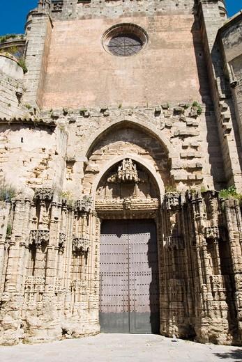 Main church in Puerto de Santa María. Cádiz province, Andalusia. Spain : Stock Photo