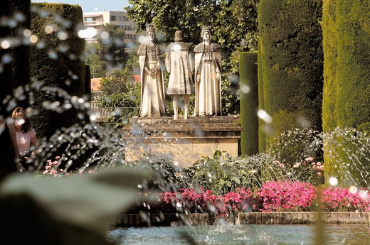 The Alcazar and gardens. Cordoba. Andalusia, Spain : Stock Photo