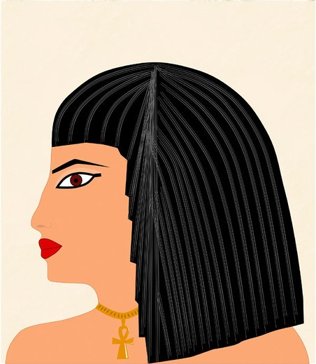 Egyptian woman : Stock Photo