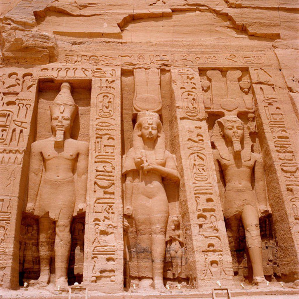 Abu Simbel, Egypt : Stock Photo