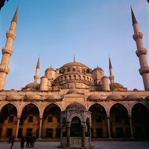 Stock Photo: 1566-678336 St. Sophia Mosque. Istambul. Turkey