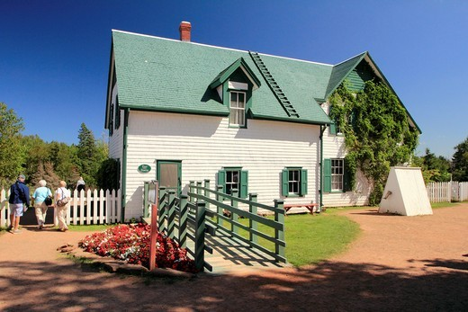 Stock Photo: 1566-680519 Green Gables house in Cavendish Prince Edward Island Canada