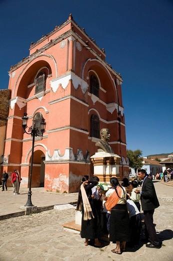 Stock Photo: 1566-680632 Arco de El Carmen s.XVII. San Cristobal de las Casas. Chiapas. México.