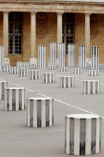 Palais Royal, Paris, France : Stock Photo