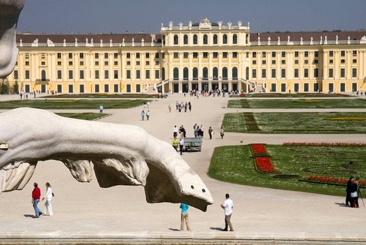 Schönbrunn Palace, Vienna. Austria : Stock Photo