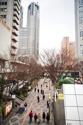 Tokyo Metropolitan Government Building, Tokyo, Japan : Stock Photo