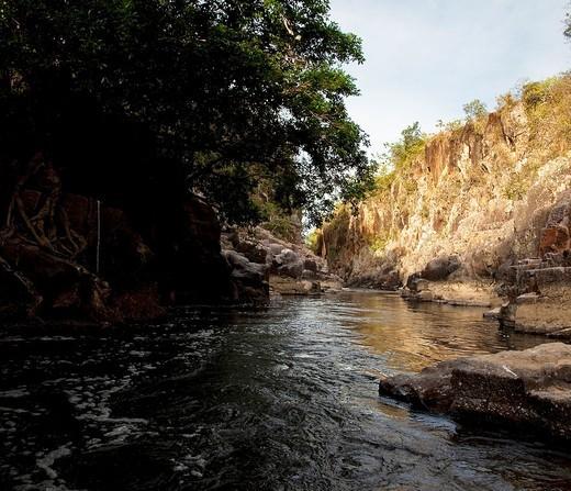 Zaratí river, Penonomé, Panamá : Stock Photo