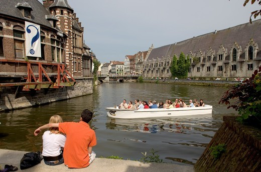Ghent, Flanders, Belgium : Stock Photo