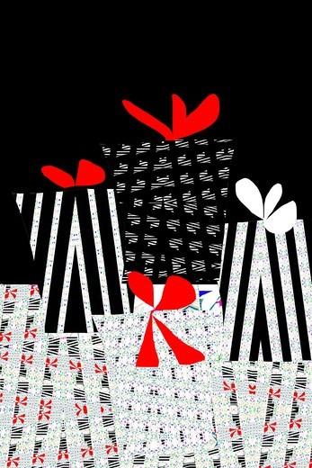 christmas-illustration : Stock Photo
