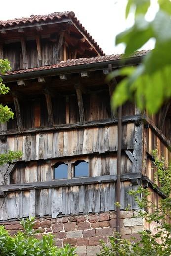 Stock Photo: 1566-689455 Palace of Jauregizar, Arraioz Baztan, Valley, Navarra Nafarroa, Spain España