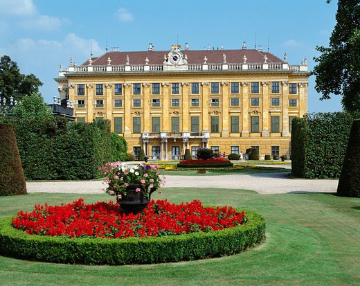 Schönbrunn Palace, Vienna, Austria : Stock Photo