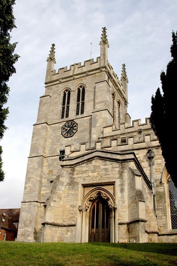 Stock Photo: 1566-691465 Church in Newport Pagnell, Buckinghamshire, England, UK
