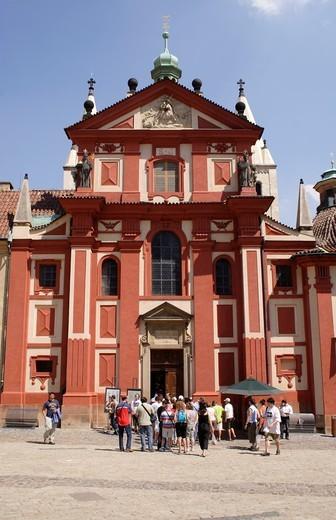 Stock Photo: 1566-692565 St George´s Convent Prague Castle