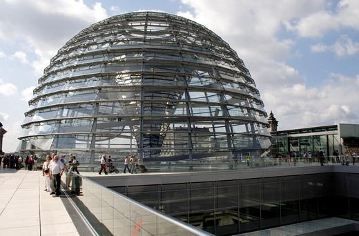 Reichstag Dome Berlin : Stock Photo