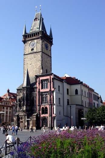Old Town Hall Prague : Stock Photo