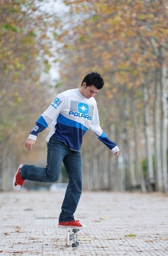 Stock Photo: 1566-693304 Kilian Martin, Freestyle Skateboard World Cup Champion
