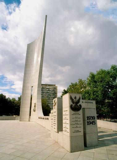 Warsaw, Poland : Stock Photo