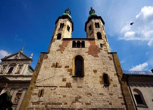 Stock Photo: 1566-694304 Poland, Krakow, St Andrew´s church