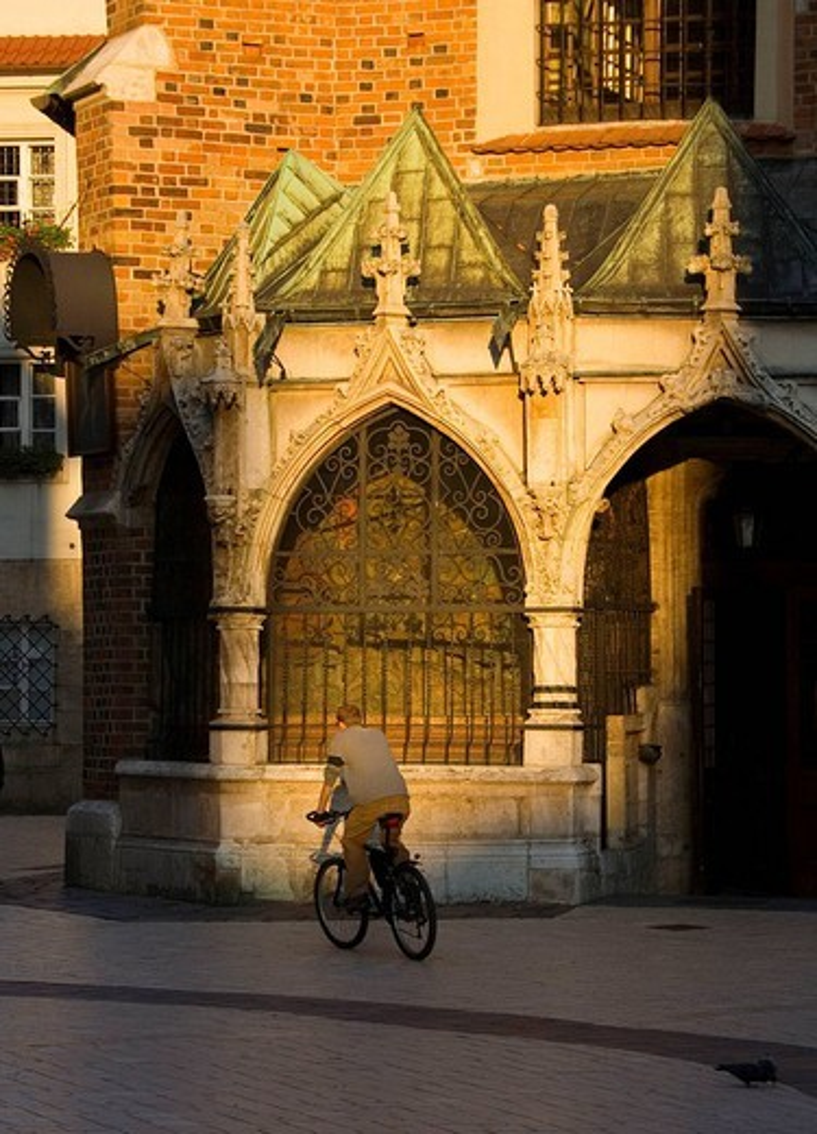 Poland Krakow St Barbara´s Church : Stock Photo
