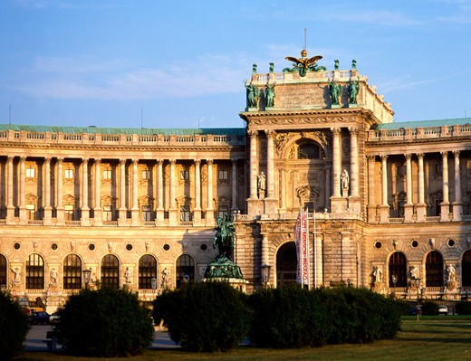 Hofburg Palace in Vienna. Austria : Stock Photo