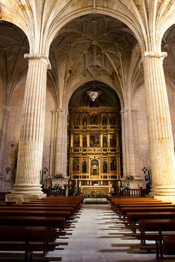 Parish church. San Clemente. Cuenca. Ruta de Don Quijote. Ruta de Don Quijote. La Mancha. Castille. Spain : Stock Photo