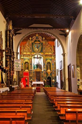 San Francisco Church, XVIII Century  Puerto de la Cruz  Tenerife  Canary Islands  Spain. : Stock Photo