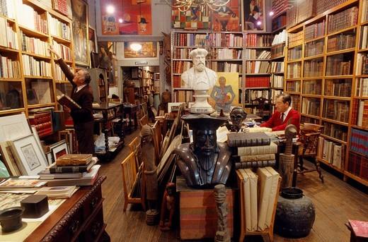 Biblarte Library. Lisbon. Portugal. : Stock Photo