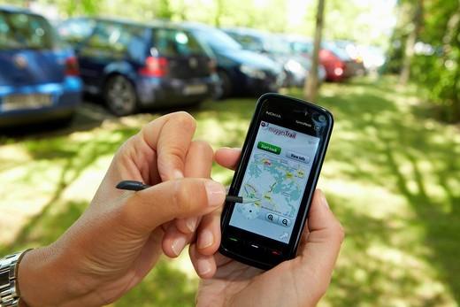 Stock Photo: 1566-698546 Aplicaciones para SmartPhones GPS y Localizacion, Laboratorio de Electronica, Tecnalia Research and Inovation, Centro de Investigaci—n Desarrollo e Innovaci—n  I+ D+ i, Zamudio, Bizkaia, Euskadi, Spain