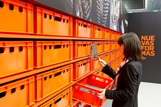 Ferroforma, Feria internacional de ferreteria y bricolaje, BEC, Bilbao Exhibition Center, Barakaldo, Bizkaia, Euskadi, Spain : Stock Photo