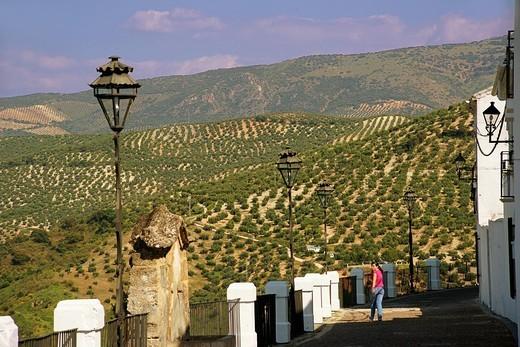 Stock Photo: 1566-699249 Balcony, Priego de Cordoba, Cordoba province, Andalusia, Spain