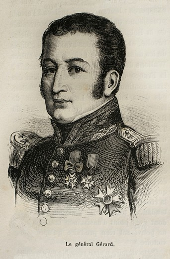 France-History-XIXc - Étienne Maurice Gérard, comte Gérard 4 April 1773 – 17 April 1852 was a French general and statesman  He served under a succession of French governments including the ancien regime monarchy, the Revolutionary governments, the Restora. France-History-XIXc - Étienne Maurice Gérard, comte Gérard 4 April 1773 – 17 April 1852 was a French general and statesman  He served under a succession of French governments including the ancien regime monarchy, the Revolutionary governments, : Stock Photo