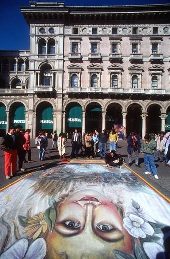 Milano, art : Stock Photo