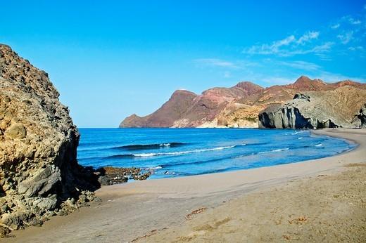 Monsul Beach  Natural Reserve of Cabo de Gata-Níjar  Almería province  Andalusia  Spain : Stock Photo