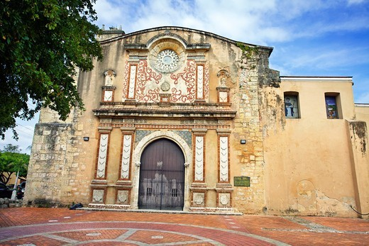 Stock Photo: 1566-705596 Santo Domingo convent, 1rst university of the new world, Santo Domingo, Dominican Republic, West Indies, Caribbean