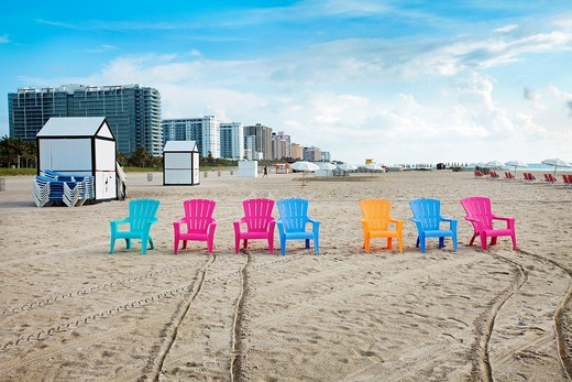 South Beach, Art deco district, Miami beach, Florida, USA : Stock Photo
