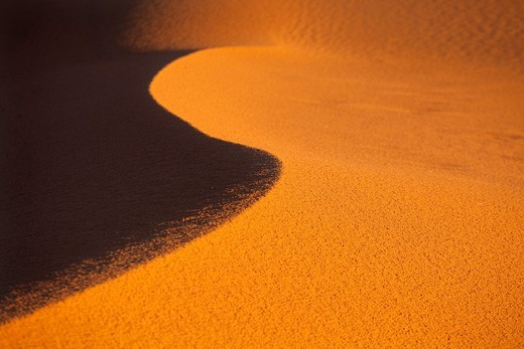 Erg Chebbi Dunes Sahara Desert Morocco North Africa March : Stock Photo