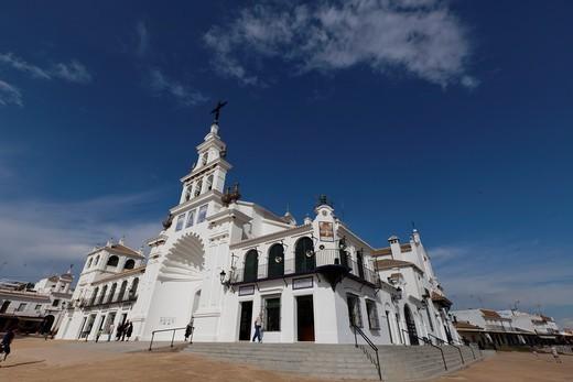 El Rocio, Almonte, Huelva, Andalucía, España : Stock Photo