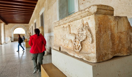 Museum of the Ancient Agora, Stoa of Attalos, Athens, Greece : Stock Photo