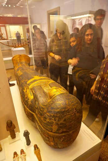 Stock Photo: 1566-712491 Egyptian Art collection, National Archaeological Museum, Athens, Greece