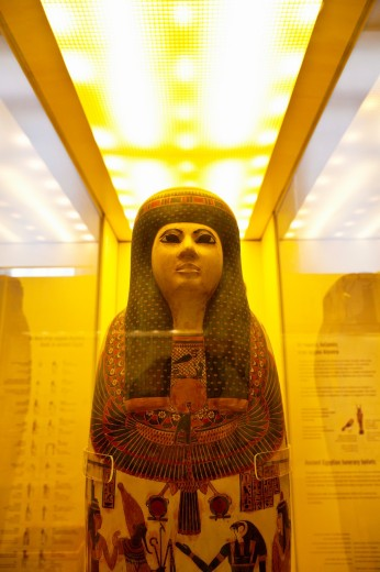 Stock Photo: 1566-712493 Egyptian Art collection, National Archaeological Museum, Athens, Greece