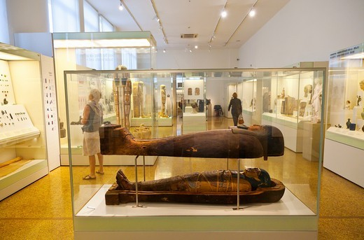Stock Photo: 1566-712497 Egyptian Art collection, National Archaeological Museum, Athens, Greece