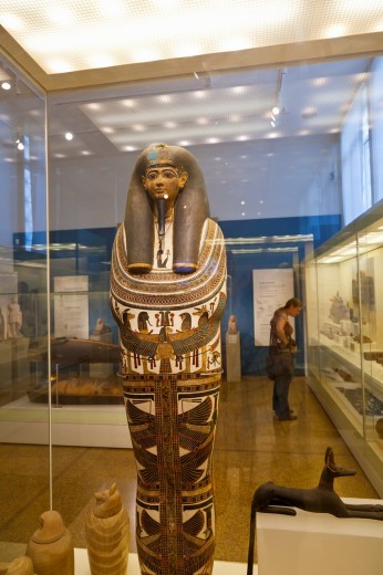 Egyptian Art collection, National Archaeological Museum, Athens, Greece : Stock Photo