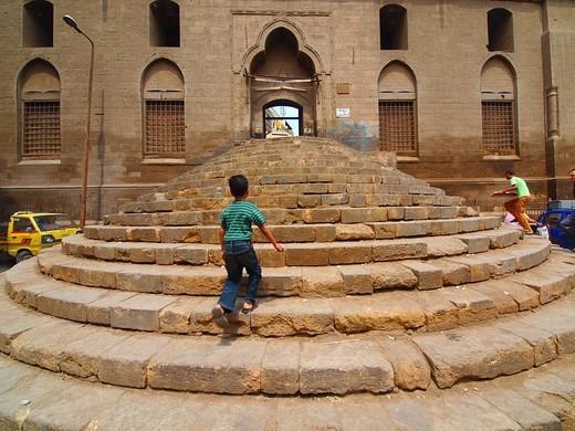 Stock Photo: 1566-719548 Mosque of Al Sayeda Safeia, Islamic Cairo, Egypt